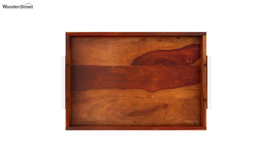 Trojan Wooden Tray (Honey Finish)-5