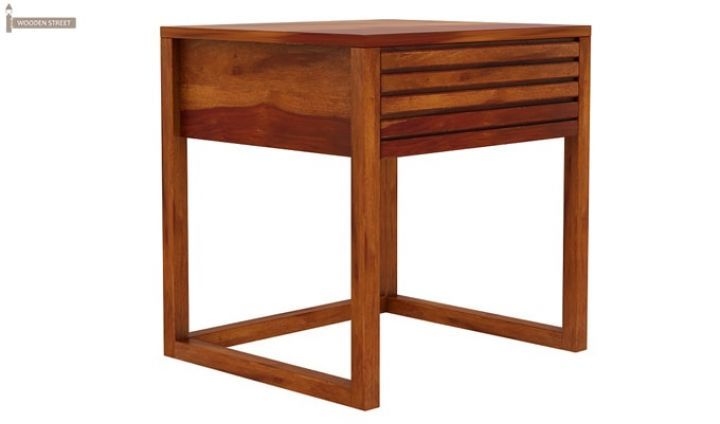 Costas Bedside Table (Honey Finish)-5