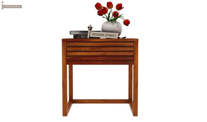 Costas Bedside Table (Honey Finish)-3