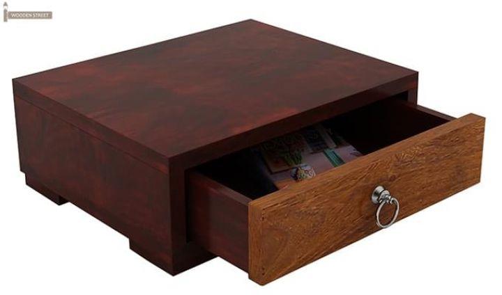 Melisandre Bedside Table (Mahogany Finish)-5