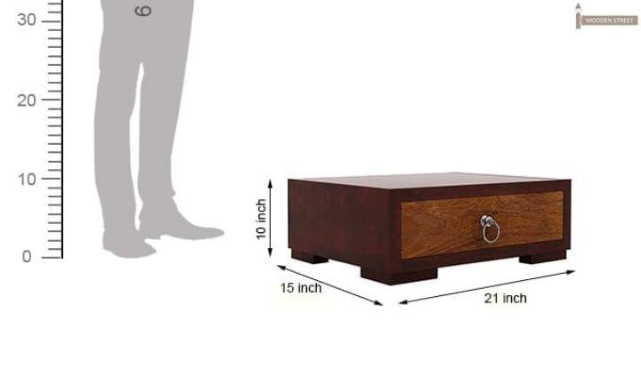 Melisandre Bedside Table (Mahogany Finish)-6