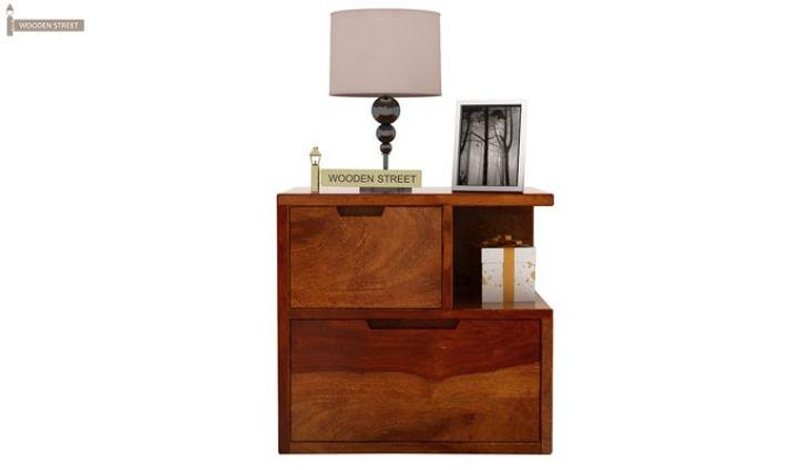 Adrian Bedside Table (Honey Finish)-3