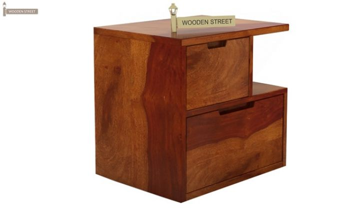 Adrian Bedside Table (Honey Finish)-4