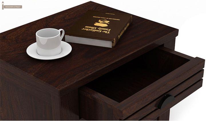 Felner Bedside Table (Walnut Finish)-5