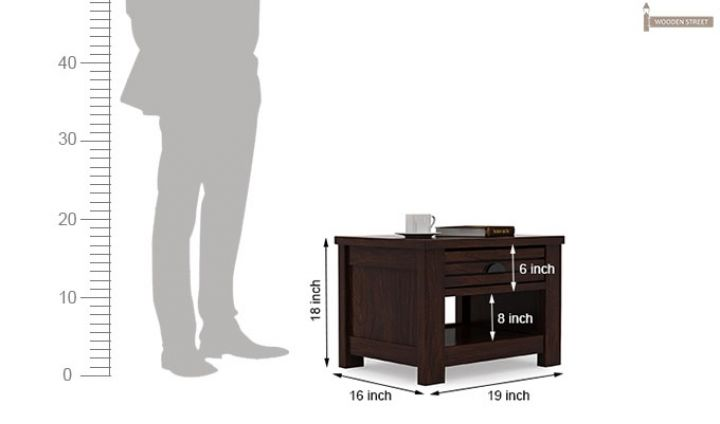 Felner Bedside Table (Walnut Finish)-6