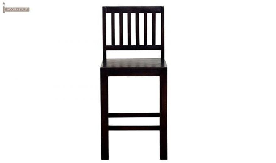 Neel Bar Chair (Mahogany Finish)-3
