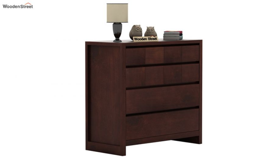 Barry Chest of Drawers (Walnut Finish)-2