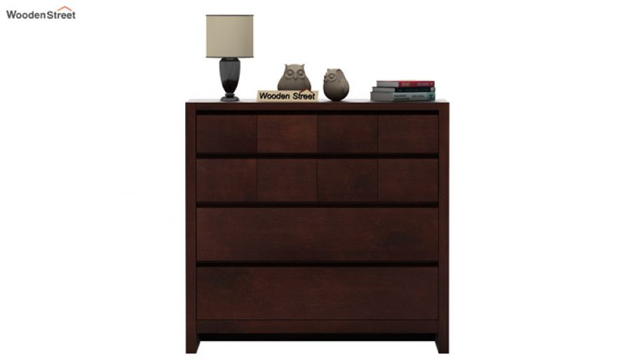 Barry Chest of Drawers (Walnut Finish)-3