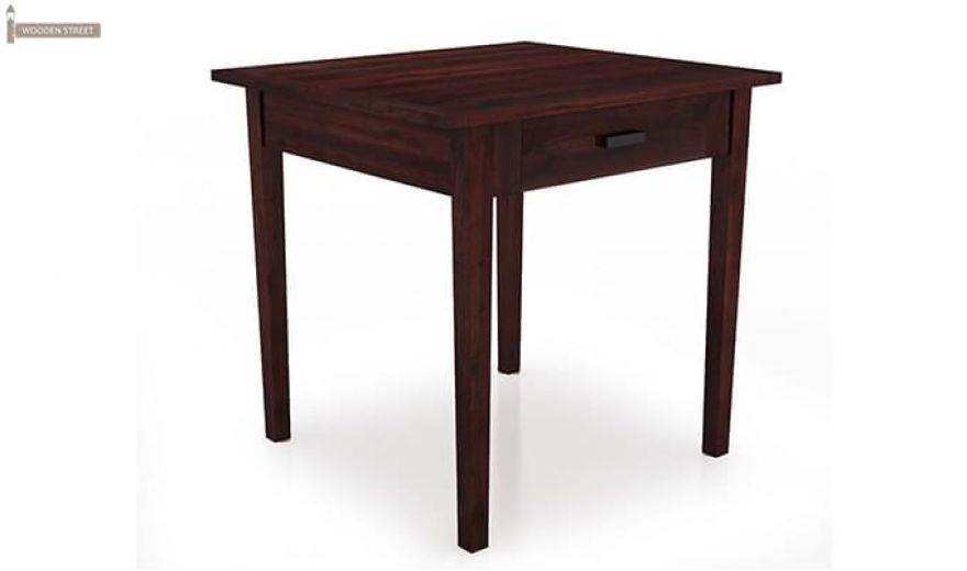 Aldore 2 Seater Dining Table Set (Mahogany Finish)-4