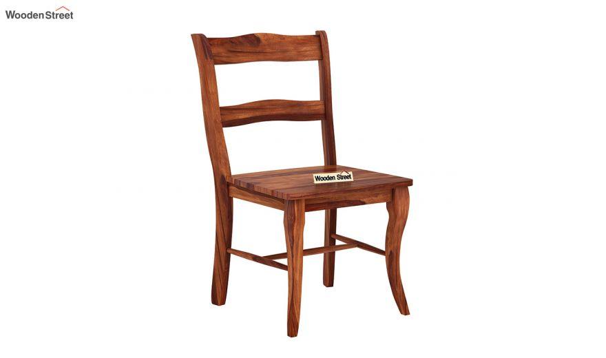 Clove 2 Seater Dining Set (Honey Finish)-5