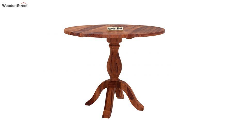 Clove 2 Seater Dining Set (Honey Finish)-7