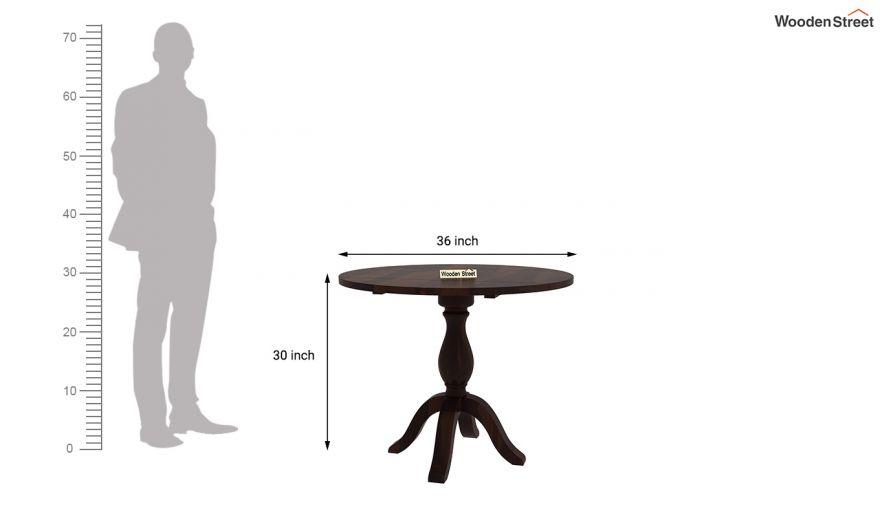 Clove 2 Seater Dining Set (Walnut Finish)-9