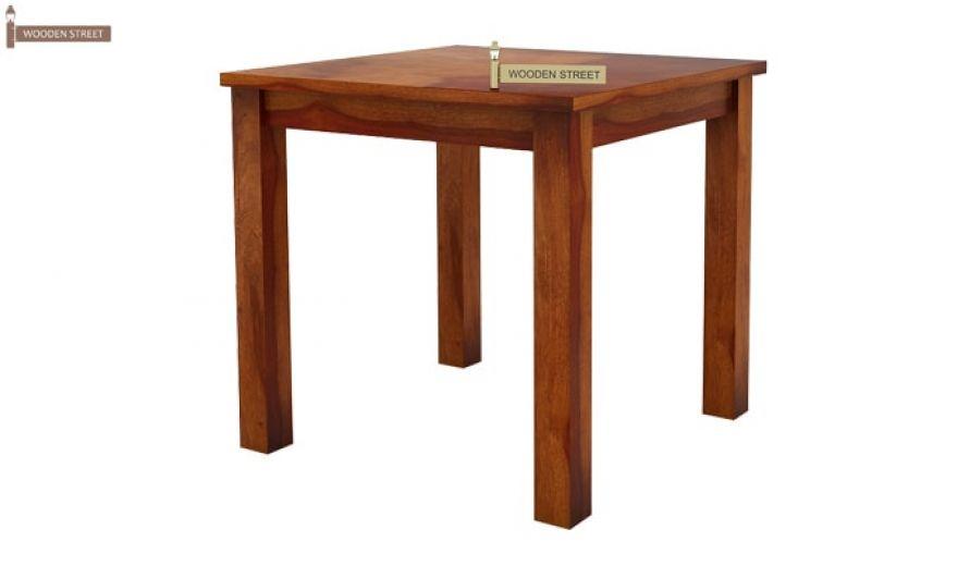Orson 2 Seater Dining Set (Honey Finish)-4