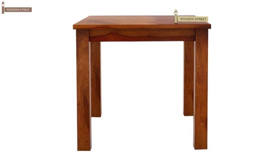 Orson 2 Seater Dining Set (Honey Finish)-5