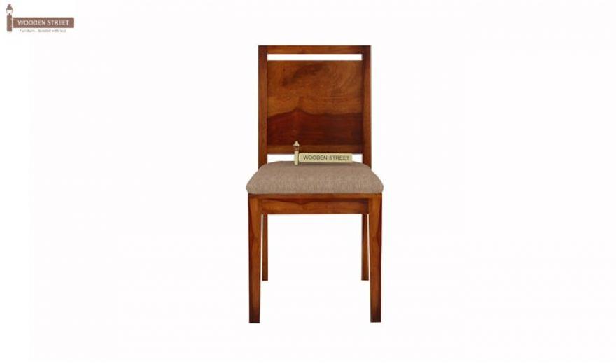 Orson 2 Seater Dining Set (Honey Finish)-6