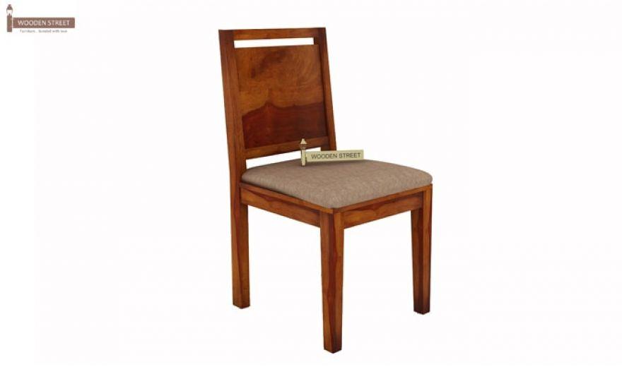 Orson 2 Seater Dining Set (Honey Finish)-7