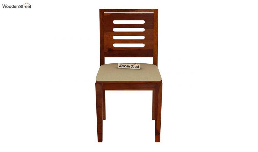 Paul 2 Seater Dining Set (Honey Finish)-14