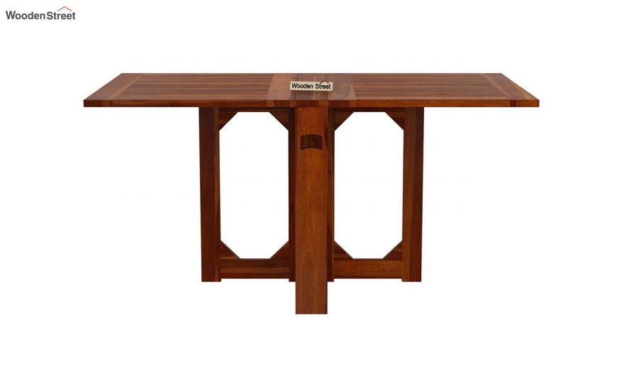 Paul 2 Seater Dining Set (Honey Finish)-5
