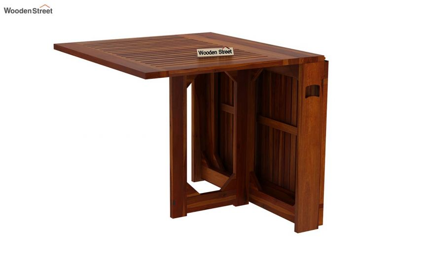 Paul 2 Seater Dining Set (Honey Finish)-10