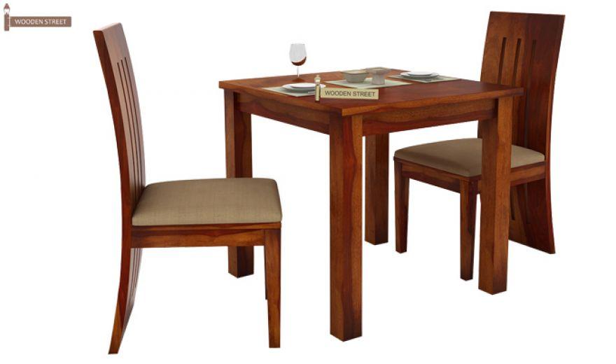 Terex 2 Seater Dining Set (Honey Finish)-2