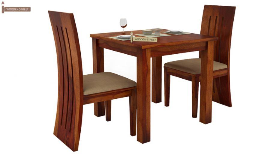 Terex 2 Seater Dining Set (Honey Finish)-3