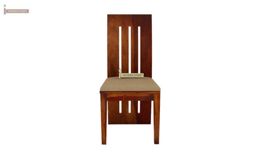 Terex 2 Seater Dining Set (Honey Finish)-6