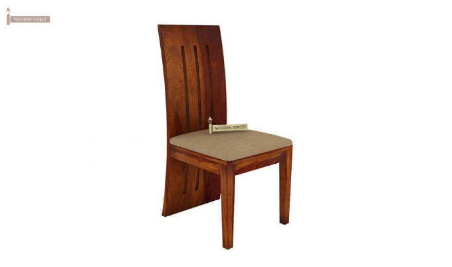 Terex 2 Seater Dining Set (Honey Finish)-7