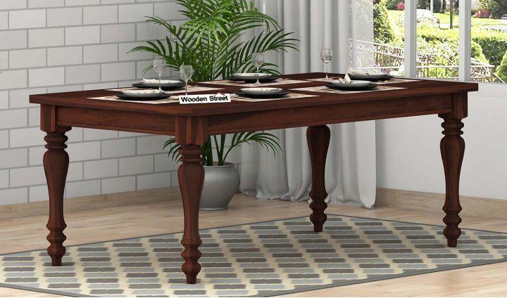 Arenberg Dining Table (Walnut Finish)-1