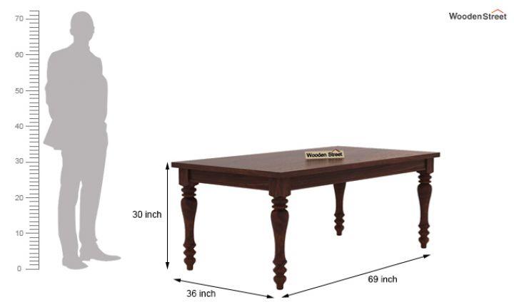 Arenberg Dining Table (Walnut Finish)-7