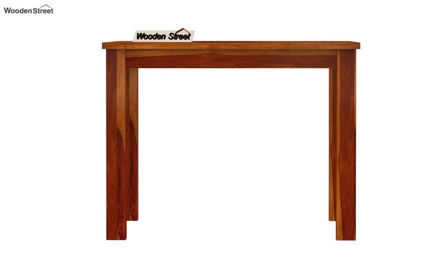 Elaine 2 Seater Dining Table (Honey Finish)-5