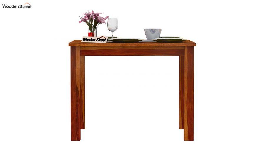 Elaine 4 Seater Dining Table (Honey Finish)-3