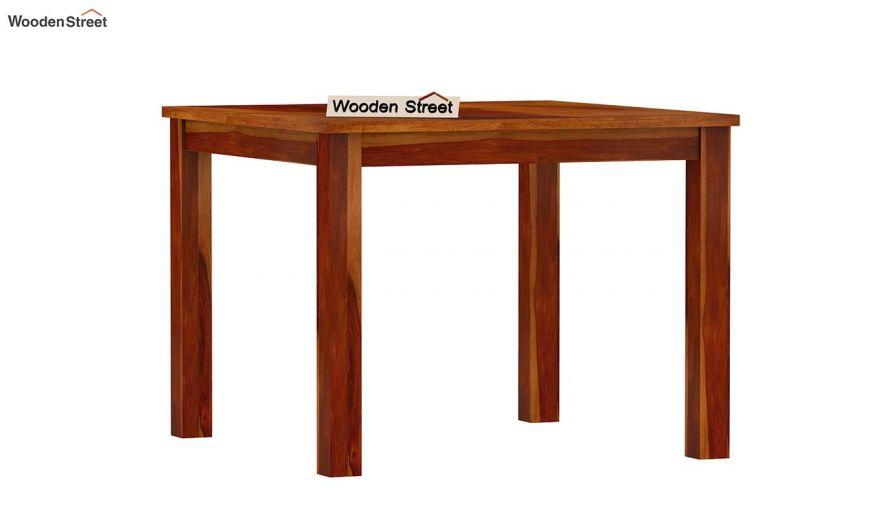 Elaine 4 Seater Dining Table (Honey Finish)-4