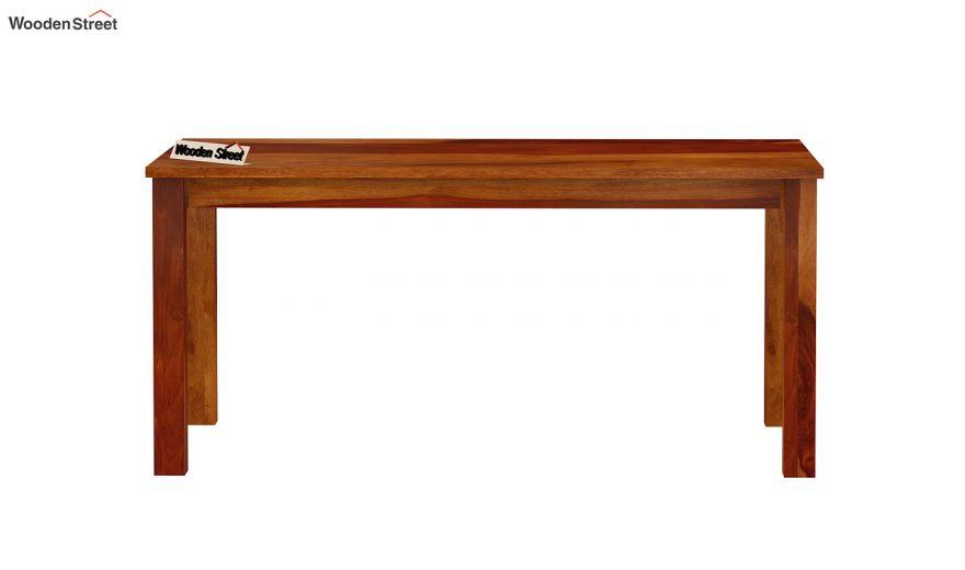 Elaine 6 Seater Dining Table (Honey Finish)-5