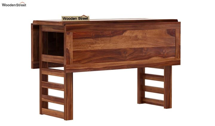 Feller Foldable Dining Table (Teak Finish)-6