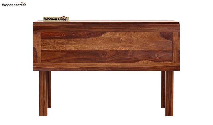 Feller Foldable Dining Table (Teak Finish)-7