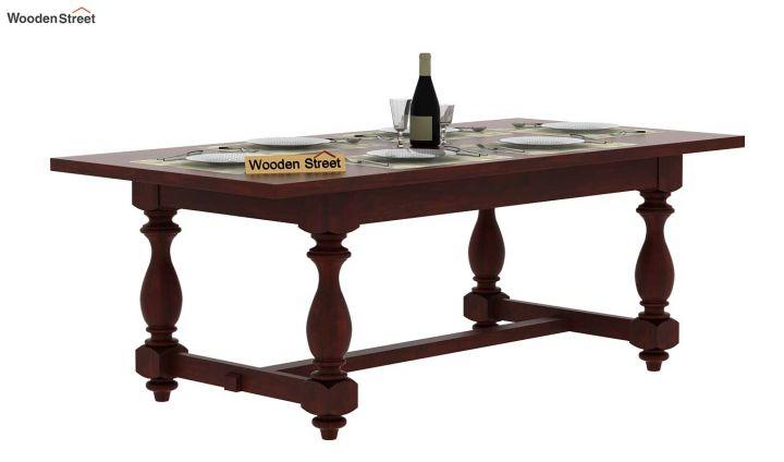 Gorsin Dining Table (Mahogany Finish)-2