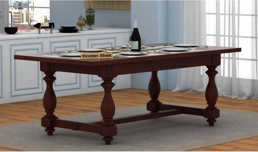Gorsin Dining Table (Mahogany Finish)-1