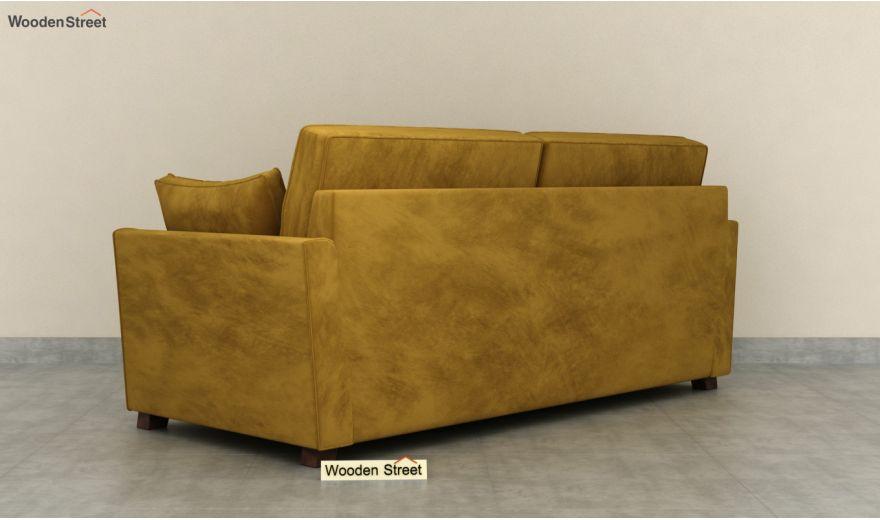 Archerd 3 Seater Sofa (Velvet, Chestnut Brown)-6