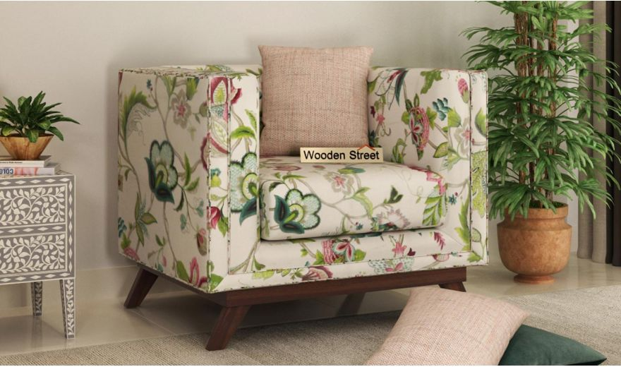 Berlin 3 Seater Sofa (Cotton, Rose Vineyard)-8