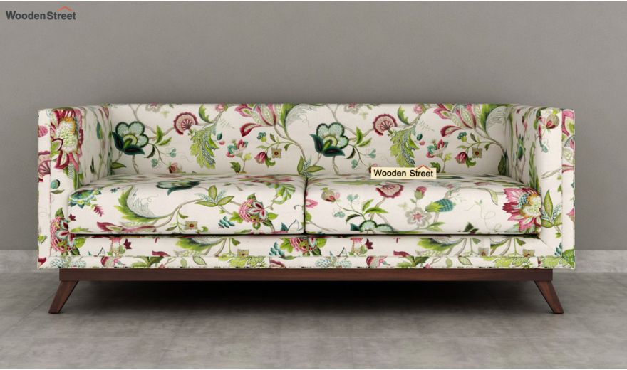 Berlin 3 Seater Sofa (Cotton, Rose Vineyard)-5