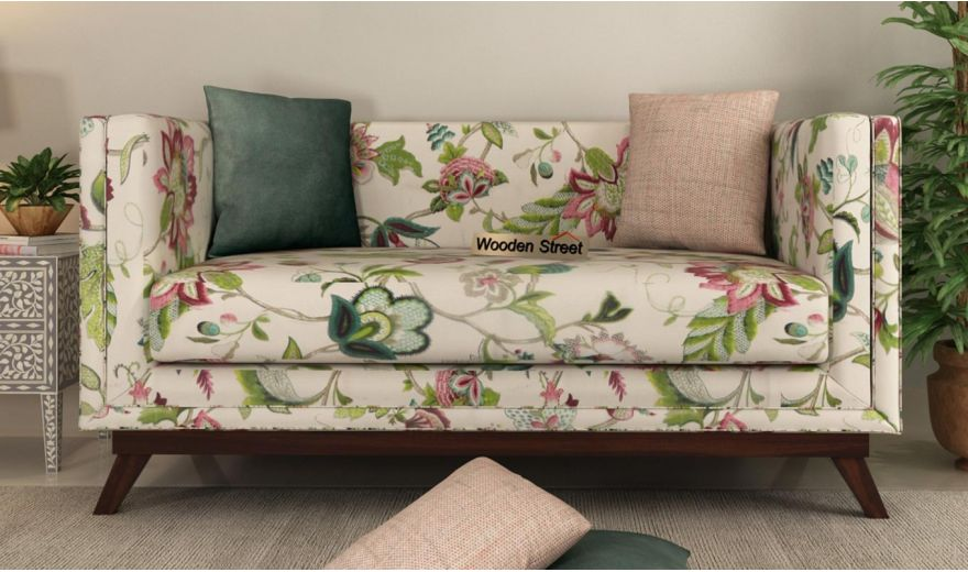 Berlin 3 Seater Sofa (Cotton, Rose Vineyard)-11