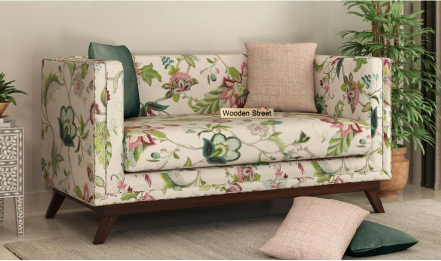 Berlin 3 Seater Sofa (Cotton, Rose Vineyard)-10