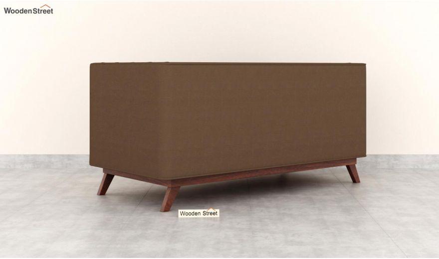 Berlin 2 Seater Sofa (Fabric, Classic Brown)-4