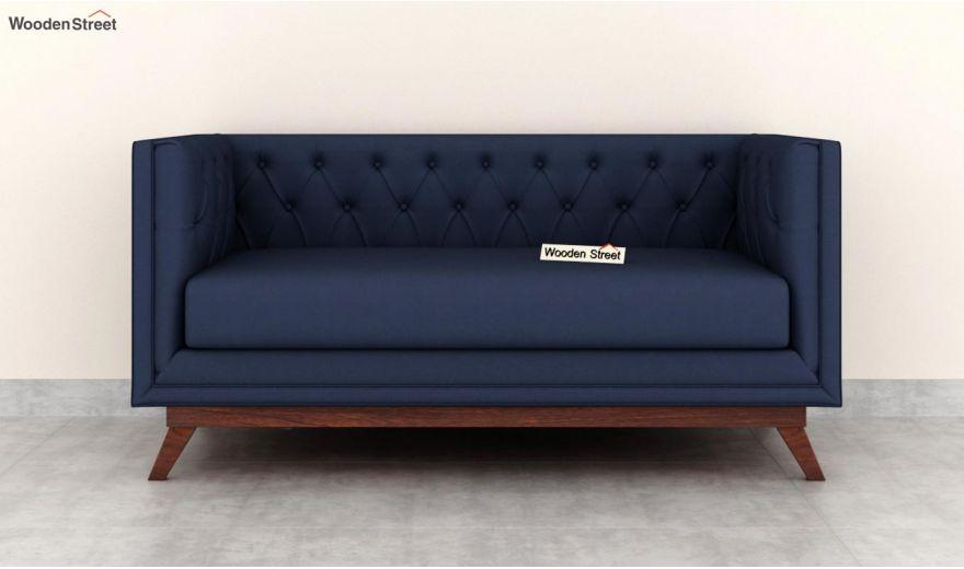 Berlin 3 Seater Sofa (Cotton, Indigo Ink)-10