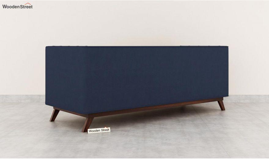 Berlin 3 Seater Sofa (Cotton, Indigo Ink)-6