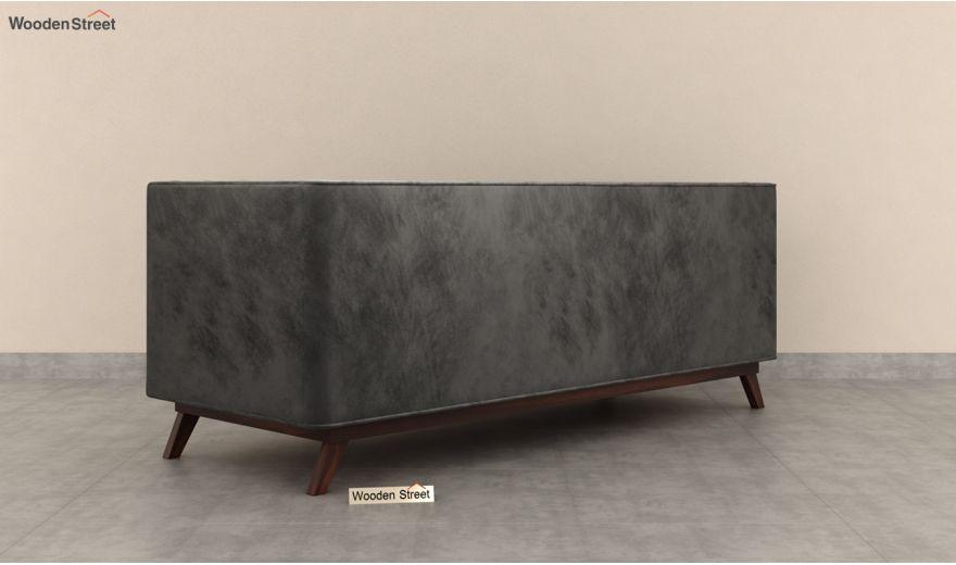 Berlin 3 Seater Sofa (Velvet, Graphite Grey)-6
