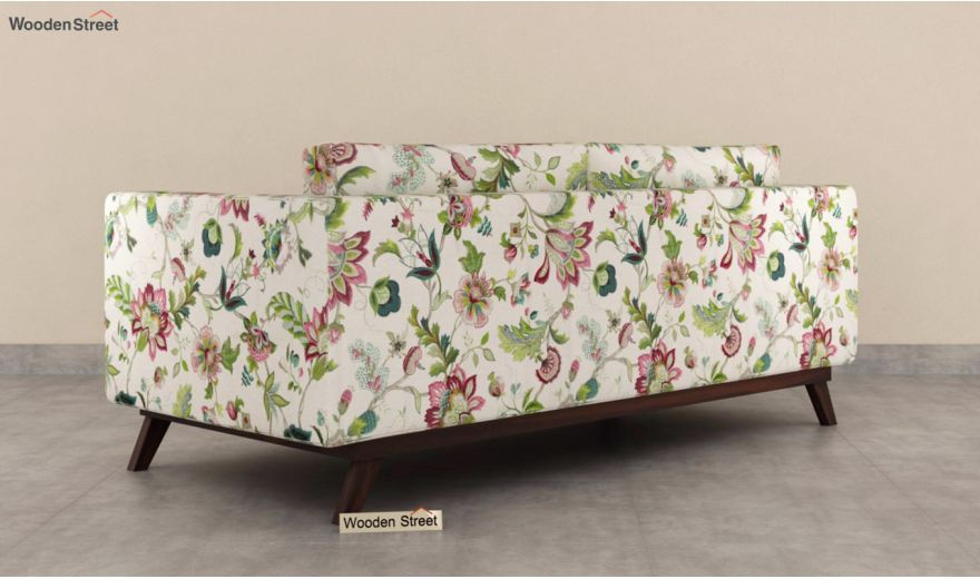 Casper 3 Seater Sofa (Cotton, Rose Vineyard)-6