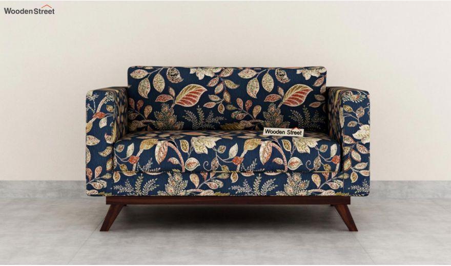 Casper 2 Seater Sofa (Fabric, Dusky Leaf)-3