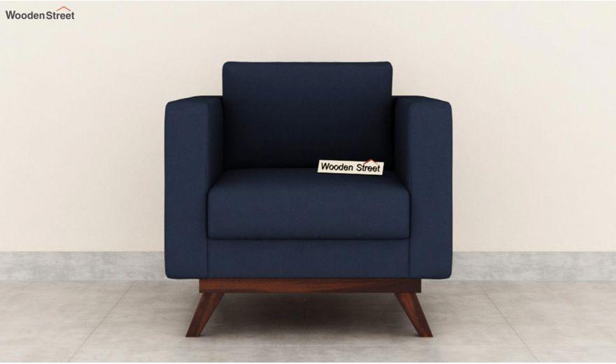 Casper 2 Seater Sofa (Fabric, Indigo Ink)-6