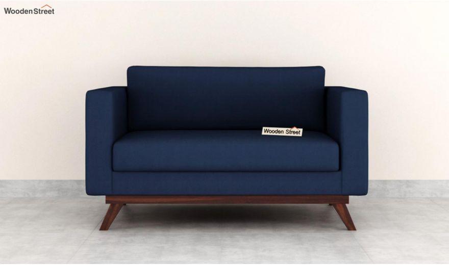Casper 2 Seater Sofa (Fabric, Indigo Ink)-3